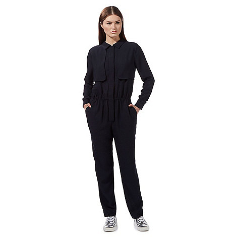 preen-edition - Navy +Teddy+ jumpsuit