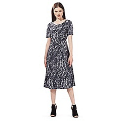Todd Lynn/EDITION - Grey snake print midi dress