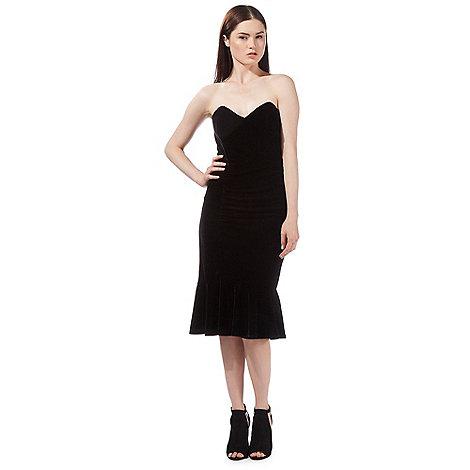 preen-edition - Black velvet dress