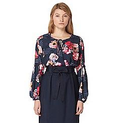 Studio by Preen - Navy floral print bodysuit