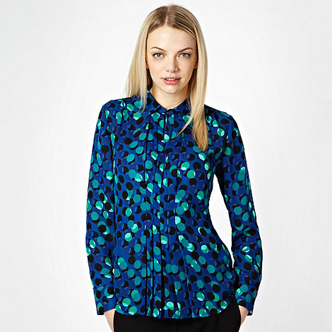 Jonathan Saunders/EDITION - Blue spotted printed shirt