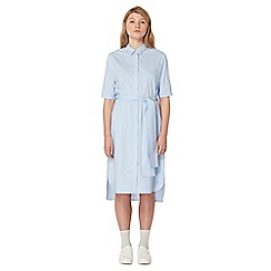 Studio by Preen - Blue midi shirt dress