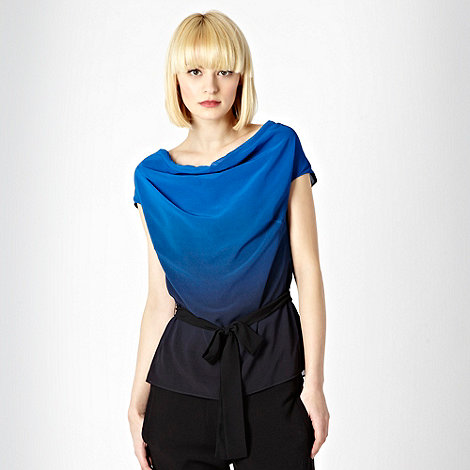 Jonathan Saunders/EDITION - Blue graduated cowl top