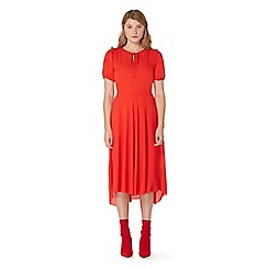 Studio by Preen - Red ruffled tea dress