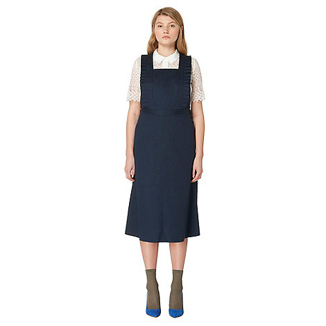Studio by Preen - Navy frilled pinafore