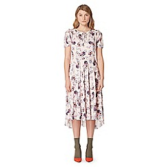 Studio by Preen - Pink floral print midi tea dress