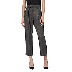 Todd Lynn/EDITION - Dark grey check trousers