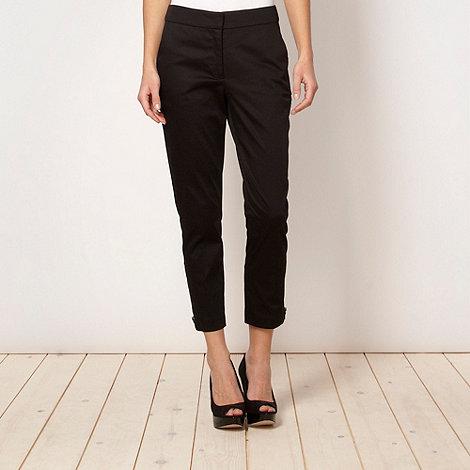 Jonathan Saunders/EDITION - Designer black zip cuff trousers