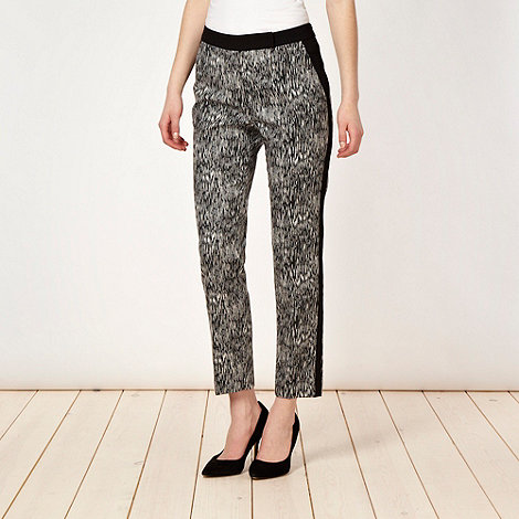 Preen/EDITION - Designer black space dye trousers