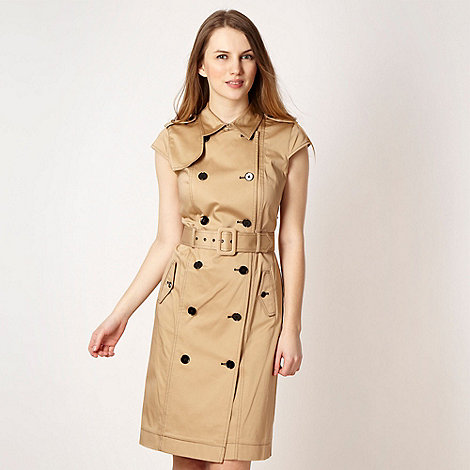 Jonathan Saunders/EDITION - Designer taupe safari dress
