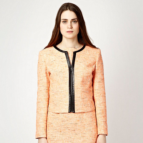 Jonathan Saunders/EDITION - Designer orange fluorescent tweed jacket