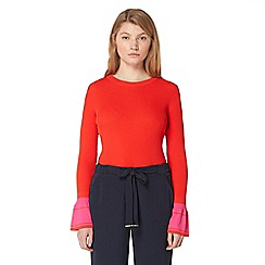 Studio by Preen - Red bell sleeve jumper