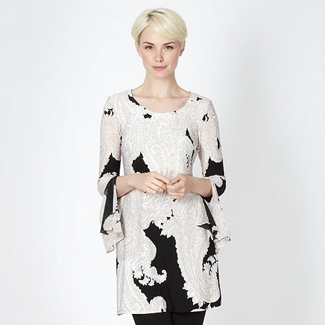 Star by Julien Macdonald - Designer beige paisley printed tunic