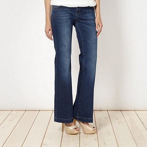 Star by Julien Macdonald - Designer blue wide leg jeans