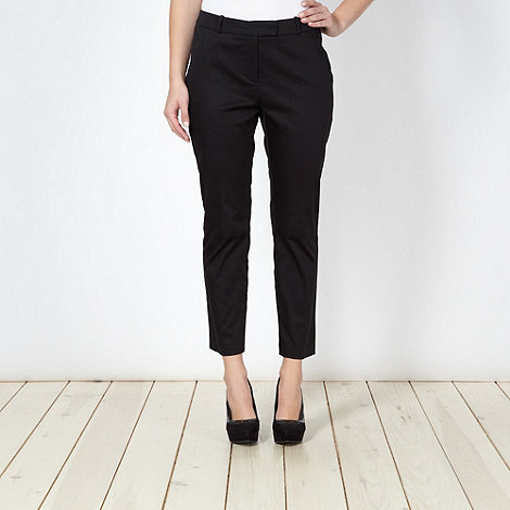 Star by Julien Macdonald - Designer black slim fit ankle trousers