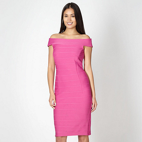 Star by Julien Macdonald - Designer pink bandage dress