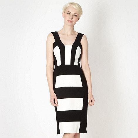 Star by Julien Macdonald - Designer black panelled dress