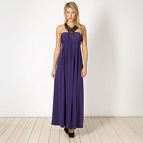 Star by Julien Macdonald - Designer purple maxi dress
