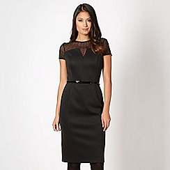 Star by Julien Macdonald - Designer black studded neck cocktail dress