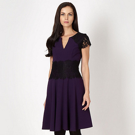 Star by Julien Macdonald - Designer purple lace dress