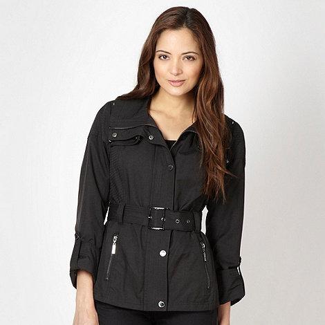 Star by Julien Macdonald - Designer black studded shoulder jacket