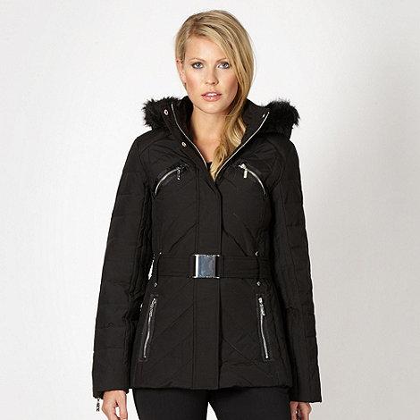 Star by Julien Macdonald - Designer black padded coat