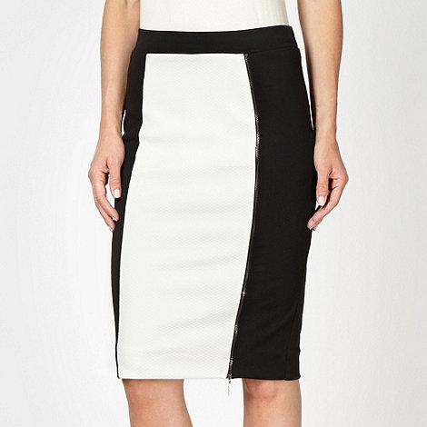 Star by Julien Macdonald - Designer ivory textured skirt