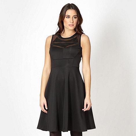 Star by Julien Macdonald - Designer black mesh insert dress