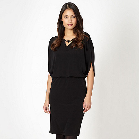 Star by Julien Macdonald - Designer black bubble jersey dress