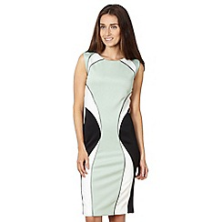 Star by Julien Macdonald - Designer green curve scuba dress
