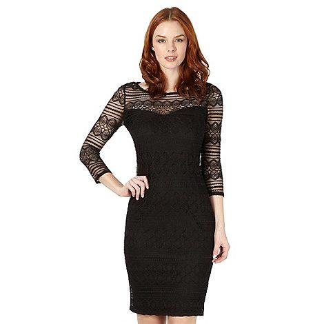 Star by Julien Macdonald - Designer black lace dress