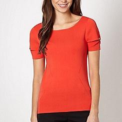 Star by Julien Macdonald - Designer orange split sleeve jumper