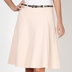 Star by Julien Macdonald - Designer pale pink fit and flare skirt