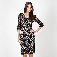 Black Lace Dress Bodycon - Debenhams