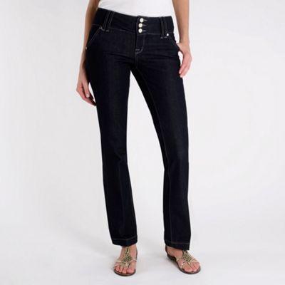 Dark blue sexy slim leg jeans
