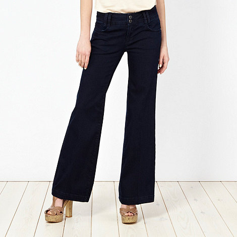 Star by Julien Macdonald - Dark blue wide leg jeans