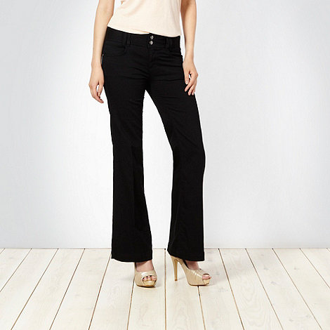 Star by Julien Macdonald - Black wide leg jeans