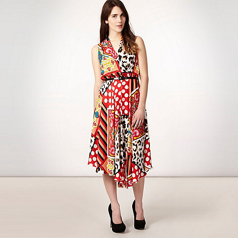 Star by Julien Macdonald - Red multi print dress of the season