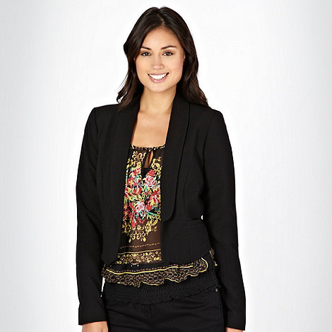 Star by Julien Macdonald - Black crepe jacket