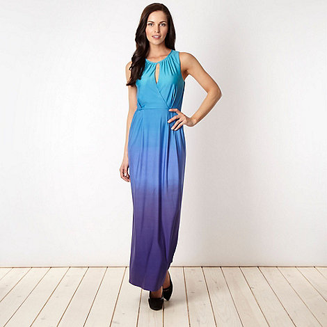 Star by Julien Macdonald - Designer blue graduating maxi dress