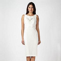 Star by Julien MacDonald - Designer ivory embellished lace dress