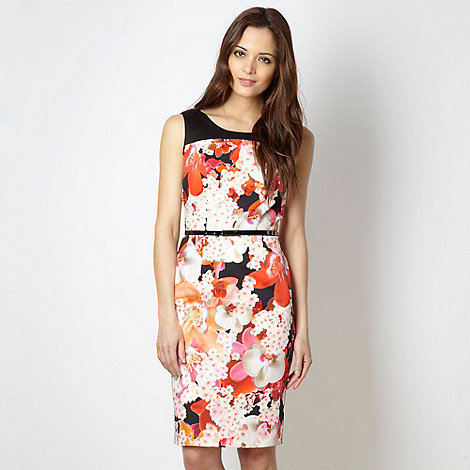 Star by Julien Macdonald - Designer black digital floral dress