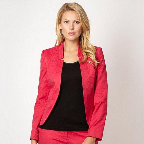 Star by Julien Macdonald - Designer pink snake jacquard jacket
