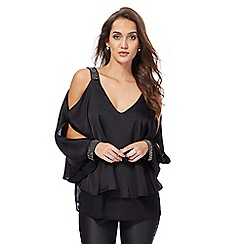 Star by Julien Macdonald - Back hot fix cape top