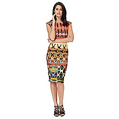 Star by Julien Macdonald - Multi-coloured bodycon dress
