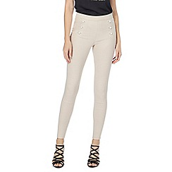 Star by Julien Macdonald - Natural button detail trousers