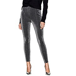 Star by Julien Macdonald - Metallic sparkle treggings