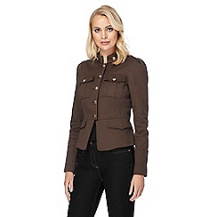 Star by Julien Macdonald - Khaki military jacket
