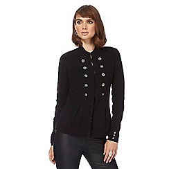 Star by Julien Macdonald - Black military cardigan