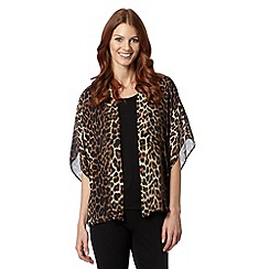 Star by Julien MacDonald - Designer natural leopard print kimono